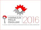 İşletmeler, 2016 Verimlilik Proje Ödülleri Başvurularınızı Bekliyor!