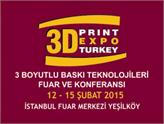 Yeni Bir Devrim'in Başlangıcı 12-15 Şubat'ta İstanbul'daki 3D Fuarı'nda!
