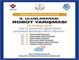 9. Uluslararası Robot Yarışması Başvurularınızı Bekliyor!