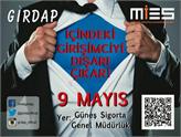GirDAP'15 Başarılı Girişimcileri ve Gençleri 9 Mayıs'ta Buluşturuyor!