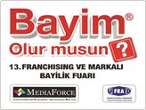 13. Bayim Olur Musun Franchising Fuarı 15–18 Ekim'de İstanbul'da!