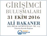 GİV Girişimci Buluşmaları'nın 2016 Ekim Konuğu: Ali Bakaner!
