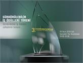 2016 Sürdürülebilir İş Ödülleri 18 Ekim'de Sahiplerini Buluyor!