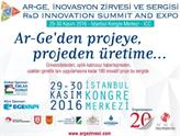Ar-Ge, İnovayon Zirvesi ve Sergisi 29-30 Kasım'da İstanbul'da!
