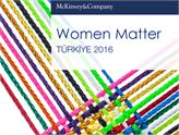Women Matter Türkiye 2016 Raporu Açıklandı