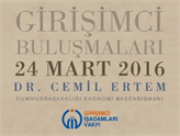 GİV Girişimci Buluşmaları'nın Mart Konuğu: Dr. Cemil Ertem!