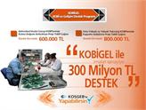 KOBİGEL Destek Programı İle İmalat Sanayisine 300 Milyon Liralık Destek!
