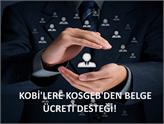 KOBİ'lerin Belge Ücretlerini Artık KOSGEB Karşılayacak!