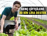 Genç Çiftçiler, 30 Bin Liralık Hibe Desteğinin Başvuruları Başladı!