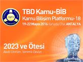 """2023 ve Ötesi: Akıllı Üretim, Verimli Devlet"""" Konuları Antalya'da İşleniyor"""