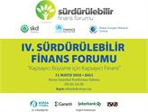 Kapsayıcı Büyüme, IV. Sürdürülebilir Finans Forumu'nda Ele Alınacak!