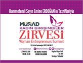 MÜSİAD Kadın Girişimciler Zirvesi 27 Mayıs'ta İstanbul'da!