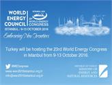 23. Dünya Enerji Kongresi'ne Geri Sayım Başladı!