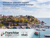 Franchise Expo Eurasia 13-16 Nisan'da Yatırımcıları Buluşturacak!