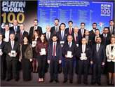 2017 Yılının Platin Global 100 Ödülleri Sahiplerini Buldu!