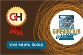 Girişimcilik Ekosisteminde Yılın Yeni Medya Girişimi Seçildik!