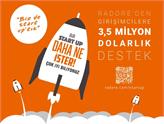 Radore'den Girişimcilere 3,5 Milyon Dolarlık Destek!